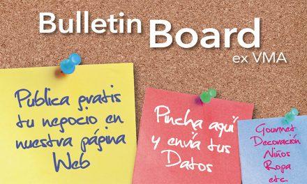 BULLETIN BOARD PUBLICA AQUÍ