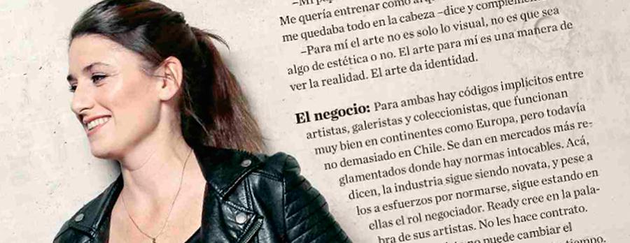 NICOLE ANDREU (GEN´99) SE ABRE CAMINO EN EL MUNDO DEL ARTE