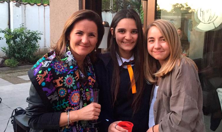 Té mamá hija en la Casa Alma Mater ¡Bienvenidas Class 2017!