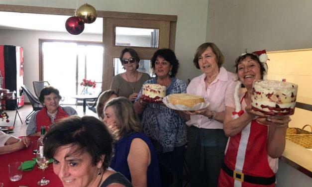 Linda celebración de Navidad en Casa Alma Mater