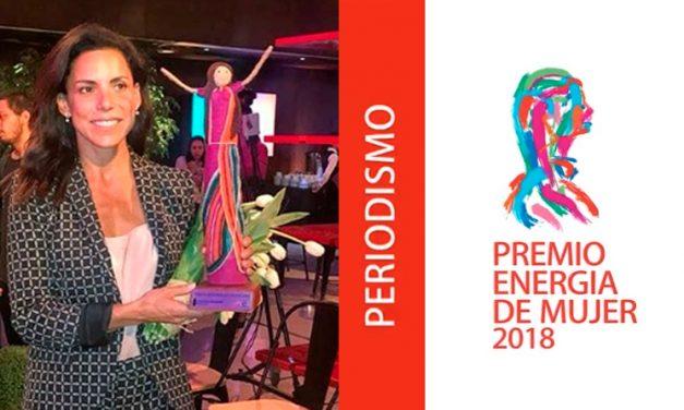 FELICITAMOS A CATALINA EDWARDS GEN '94 POR SU PREMIO ENERGIA DE MUJER 2018