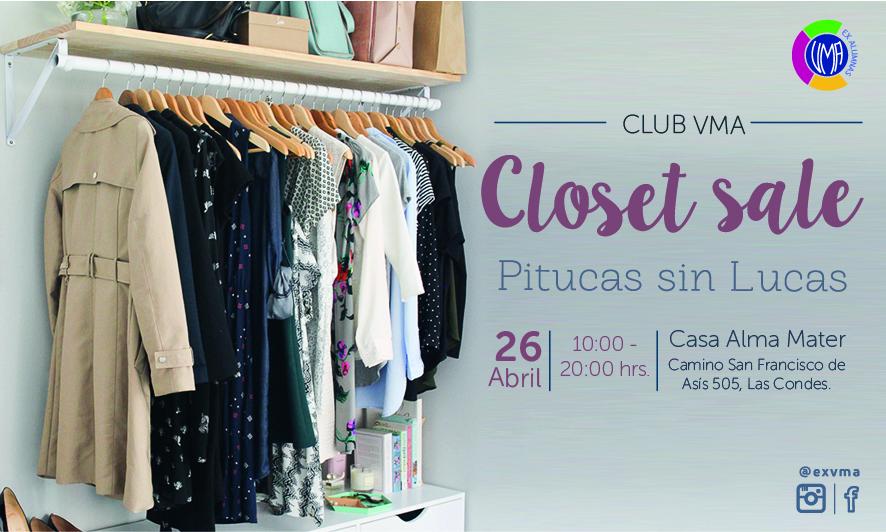 Ya viene Closet Sale – Pitucas Sin Lucas