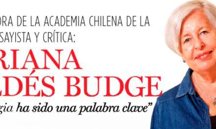 Adriana Valdés Budge, exalumna gen '60, Vicedirectora de la Academia Chilena de la Lengua del Instituto de Chile, habla en revista Ya.