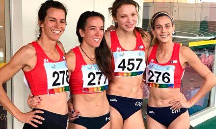 Tres ex VMA Integrantes: Martina Weil, Fernanda Mackenna y Coti Echeverria obtienen medalla de plata y récord de Chile en la posta 4 x 400
