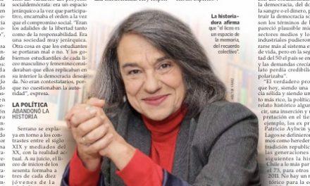 """Sol Serrano, ex alumna VMA y destacada historiadora, publica el ensayo """"El liceo (relato, memoria, política)"""