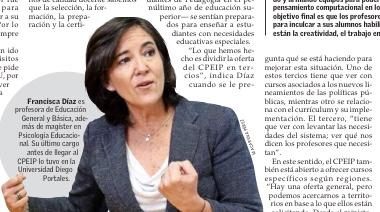 Entrevista a Francisca Díaz, ex alumna y directora del Centro de Perfeccionamiento, Experimentación e Investigaciones Pedagógicas del MIneduc