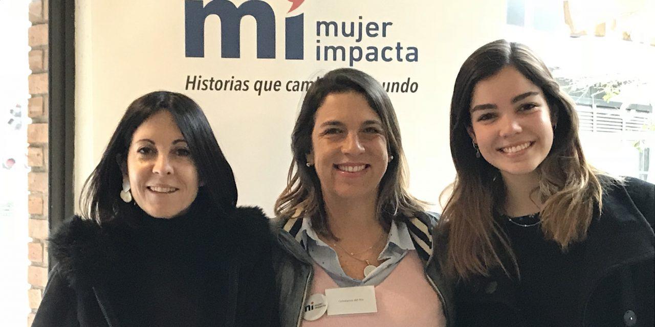 Felicitamos a Constanza del Río (gen '91) y Andrea Henríquez (gen' 2015) por obtener el Premio Mujer Impacta 2018