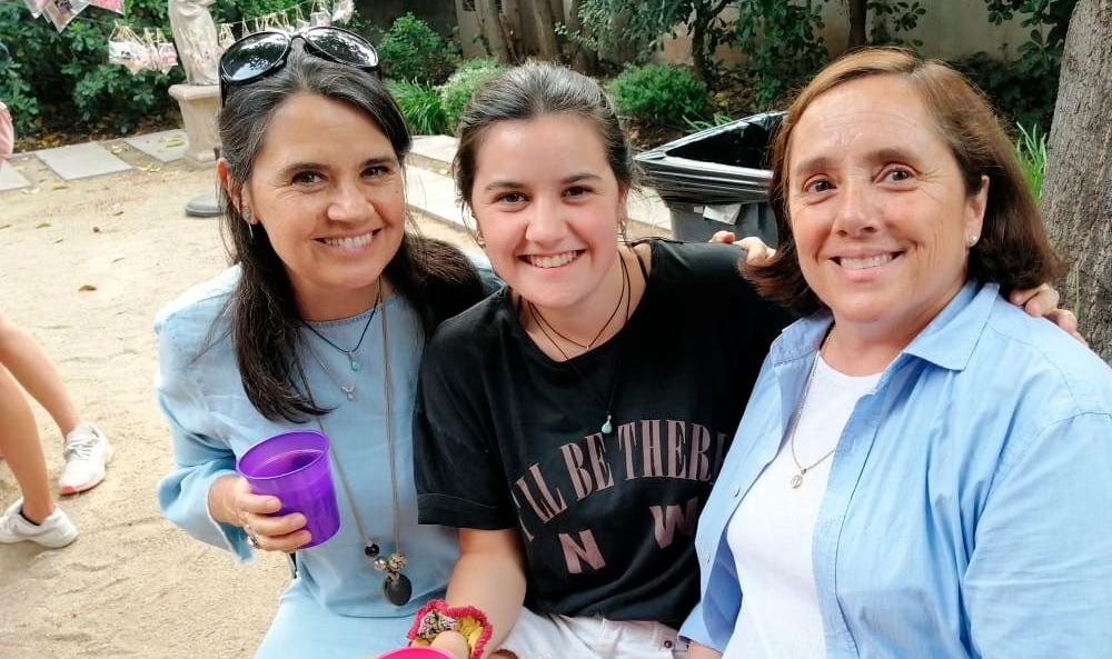 La generación 2019 tuvo su tradicional té Madre e Hija en la Casa Alma Mater