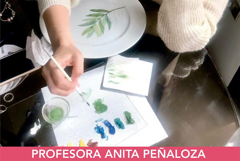 TALLER DE PINTURA SOBRE PORCELANA