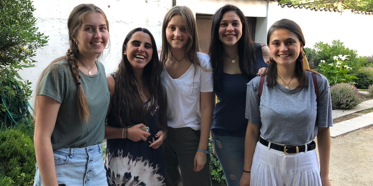 Té de curso mamá e hija generación 2018 en Casa Alma Mater